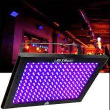 luz negra chauveth TFX UV leds