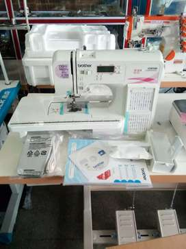Maquina de coser computarizada Brother.