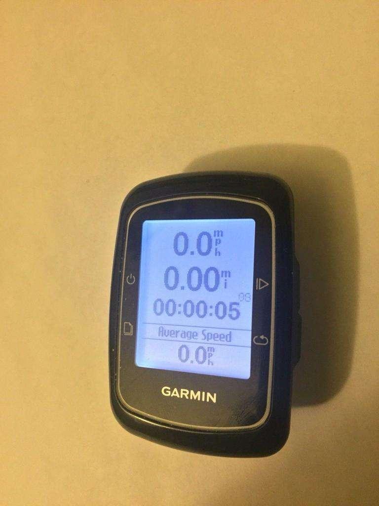 GARMIN EDGE 200 GPS CUENTA KILÓMETROS, VELOCIDAD Y CONSUMO DE CALORIAS 0