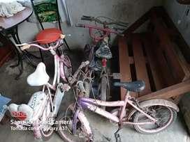 4 bicicletas de niños