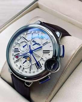 Relojes cartier automáticos garantizado reloj hombre
