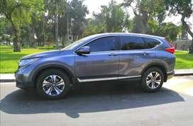 Honda CRV 2017, $23,500, 4x2, AUT de cuero, lunas y espejos electricos, airbags, AC Aros 41000kms