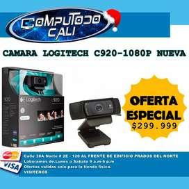 CAMARA LOGITECH  NUEVA HD 1080P