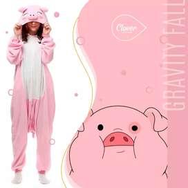 Pijama de Cerdito Kigurumi Original