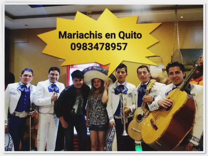 Mariachis en el valle de los chillos disponibles 24h 0