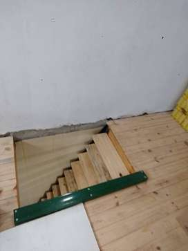 Entrepisos y escaleras