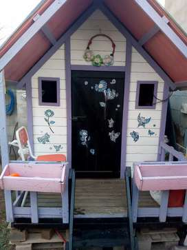Casa de madera para exterior