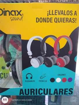 Auriculares 3.5 Dinax