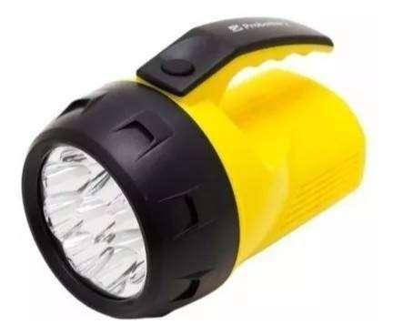Linterna Led Probattery 9 Mango Plastico 100 Metros Handy 0