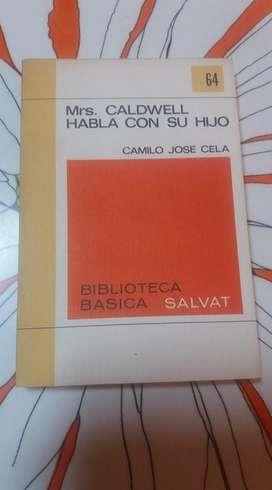 MRS. CALDWELL HABLA CON SU HIJO CAMILO JOSE CELA BIBLIOTECA SALVAT