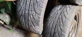 Rines con llantas y tapas para honda civic 2006-2012