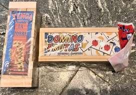 Oferta jenga + domino