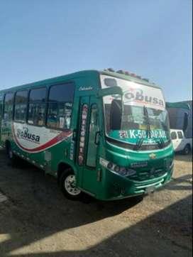 Vendo Buses Afiliados a la empresa Sobusa S.A