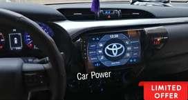 """Radio original android 10"""" Toyota Hilux"""
