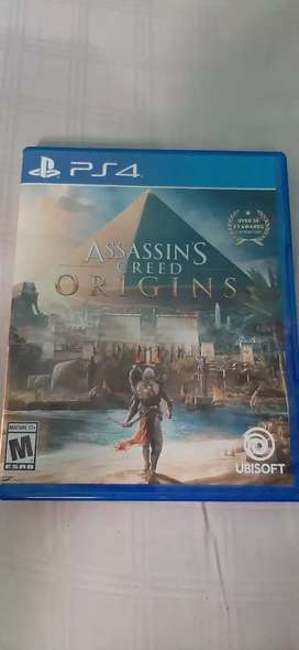 Solo vendo assassins creed origin ps4
