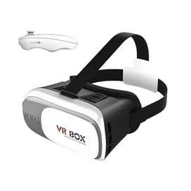 Gafas realidad virtual + control para celular