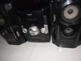 Minicomponente Panasonic Akx50 Para Reparar O Repuestos