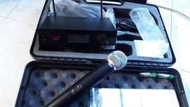 Microfono inalambrico marca Pro Dj