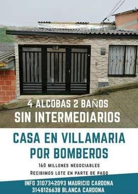 Se Vende Casa en Villamaría