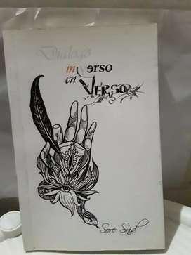 """Libro """" DIALOGO INVERSO EN VERSO"""" Firmado por la autora"""