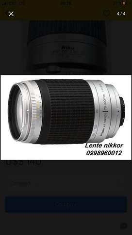 Lente Teleobjetivo Nikon 70-300mm
