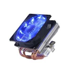 Ventilador Disipador 4 Tubos Cpu Lga1155 Lga115x 775 Azul