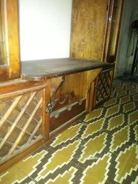 Mueble tv con vinoteca y gabetas