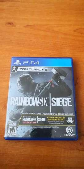 Juego Rainbow six siege