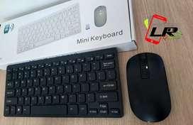 Combo teclado y mouse mini, inalambrico