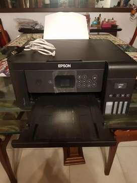 Impresora EPSON L4160 + tinta negra y de color