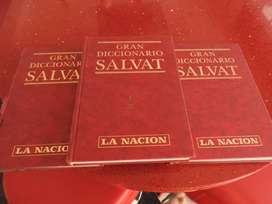 Diccionario Salvat 3 tomos nuevos