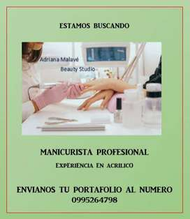 Manicurista profesional en Guayaquil