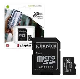 Micro SD 32gb Clase 10  80mb/s