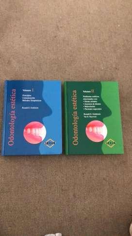 Odontologia Estetica Volumen I Y Ii