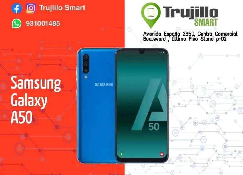 Samsung Galaxy A50 128 GB tienda Física garantía 1 año 0