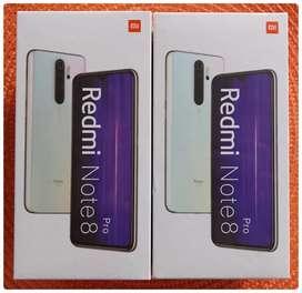Redmi Note 8 Pro de 128Gbs NUEVOS, ORIGINALES Y HOMOLOGADOS .