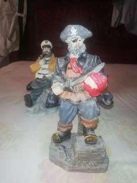Adornos piratas antiguos traído desde europa