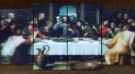 Cuadro Religioso católico cristiano familia