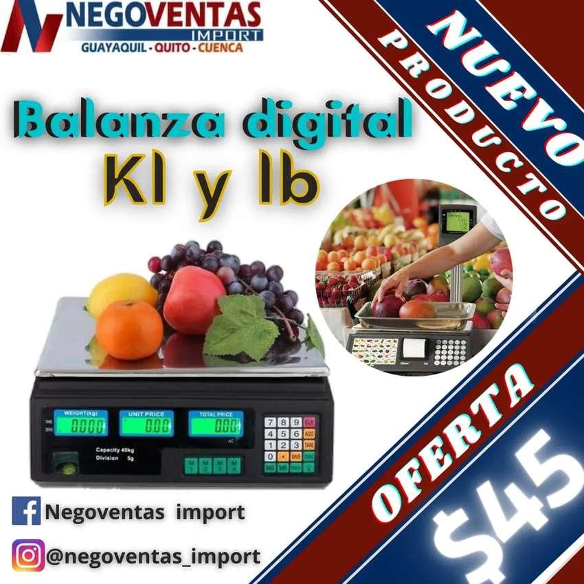 Balanza digital kl y libra