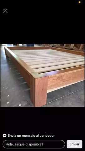 Fábrica de Basecamas en madera cedro macizo