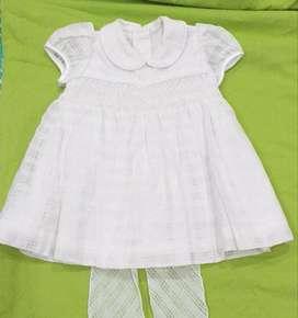 Vestido de Bautizo niña talla 6 meses
