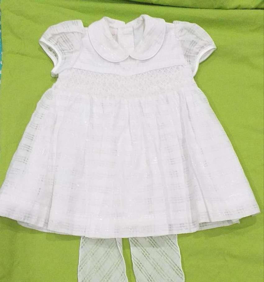 Vestido de Bautizo niña talla 6 meses 0
