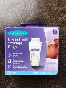 Bolsas de almacenamiento leche materna