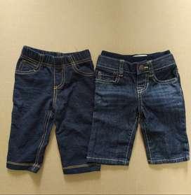 Lote 6 unidades ropa bebé 0-6 meses diferentes marcas