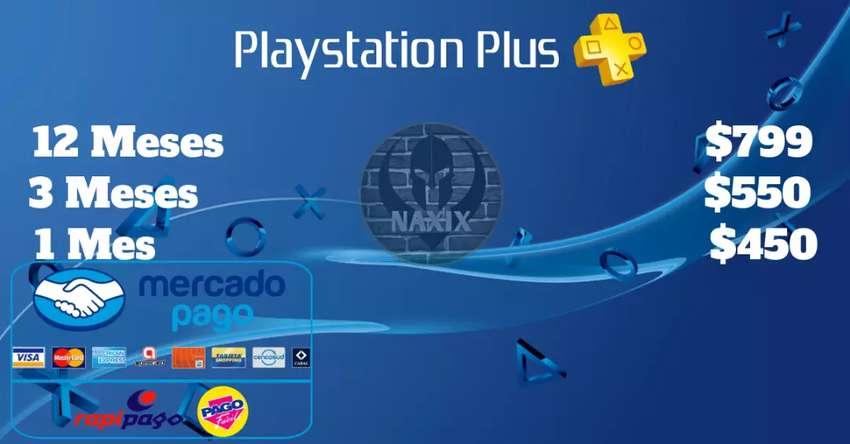 PS Plus 12 Meses NaxixGames 0
