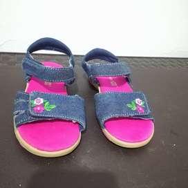 Sandalias en jeans