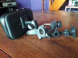MOTO,2 SOPORTES GPS 1 DE METAL !