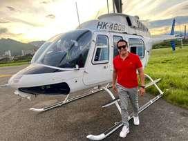 conoce la cuidad desde aire con un tour en helicóptero