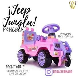 Jeep jungla princesa