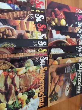 Supercocina, coleccion de revistas de cocina